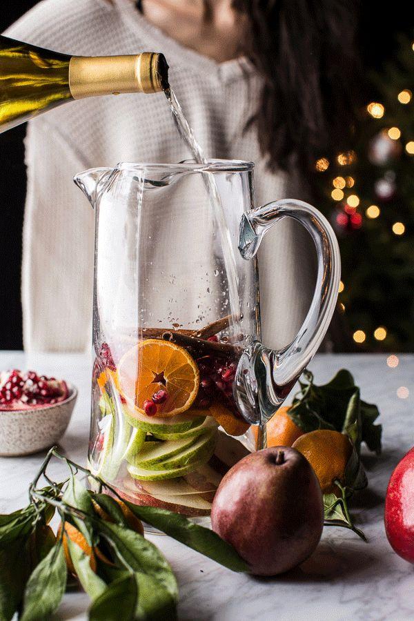 Sangría de Navidad |  halfbakedharvest.comhbharvest