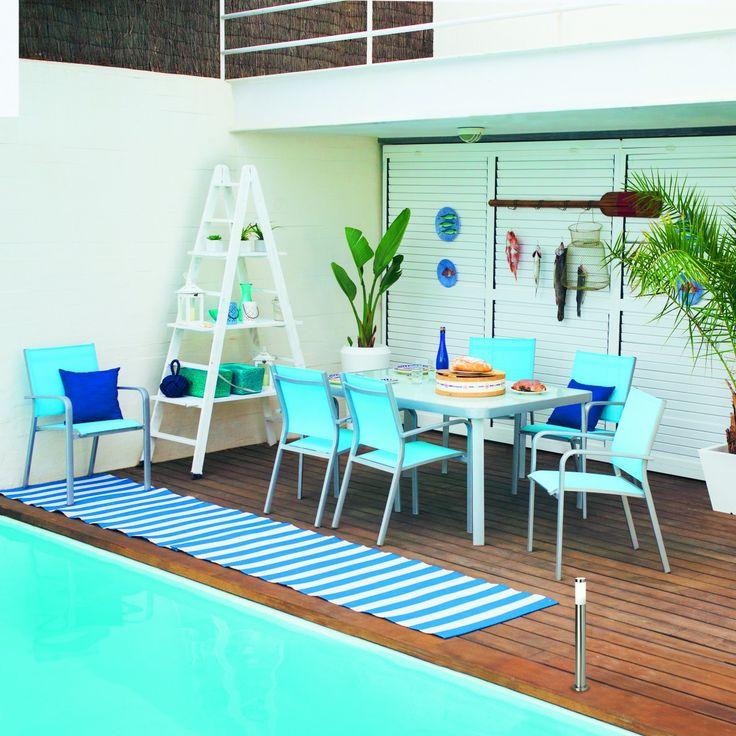 Ideas para decorar y amueblar el jard n terrazas piscina for Ideas para decorar azoteas