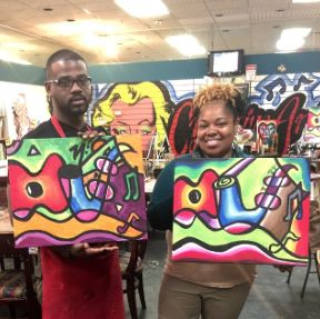 54 best painting art class atlanta images on pinterest