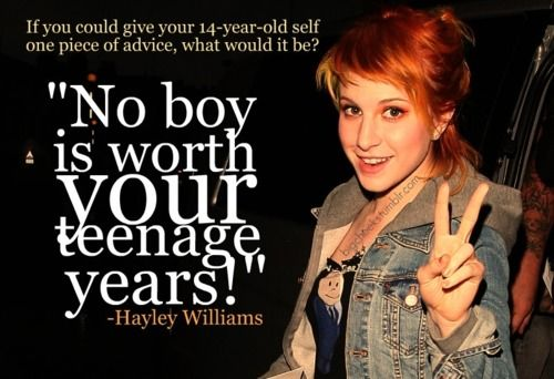 how to give advice to a teenager