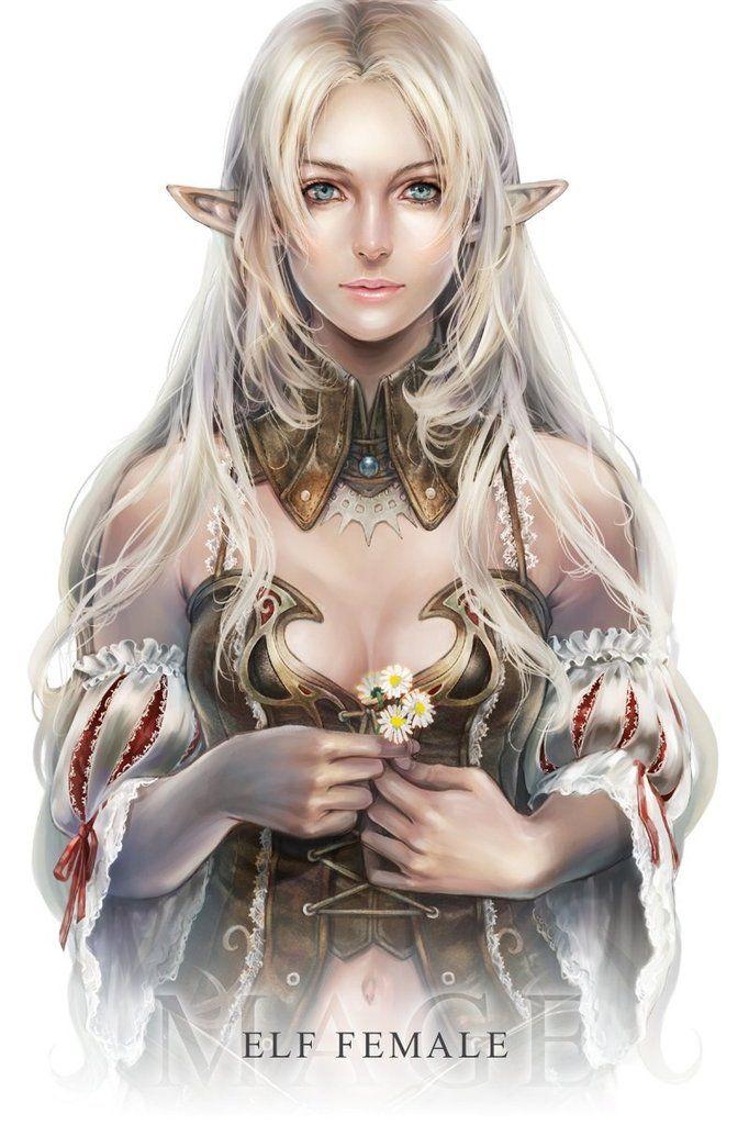 Fantasy Female Elves | elf female art fantasy