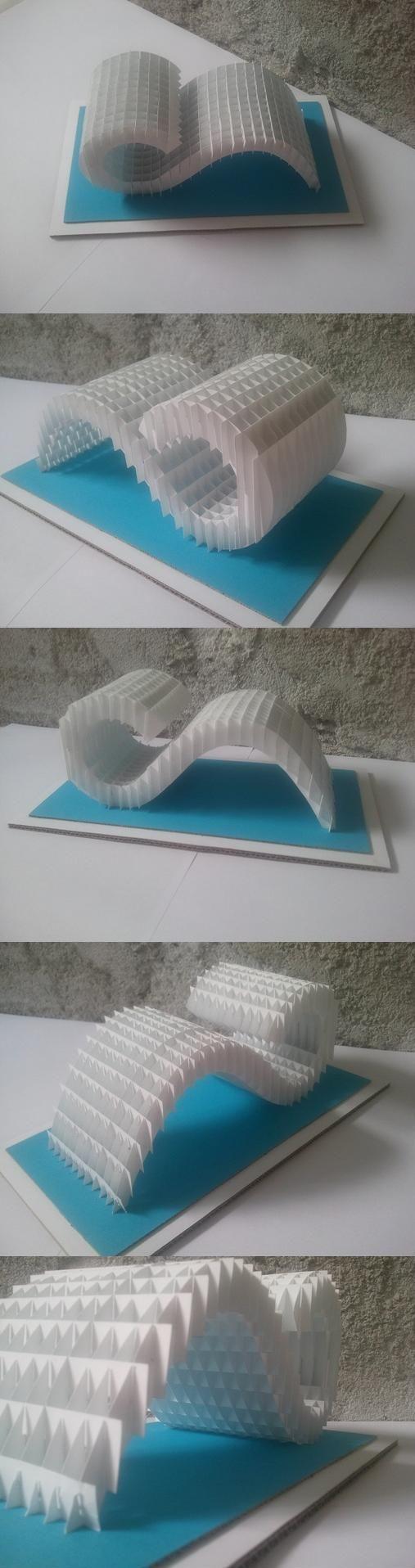 Wave sliceform by MirieSolem.deviantart.com on @deviantART