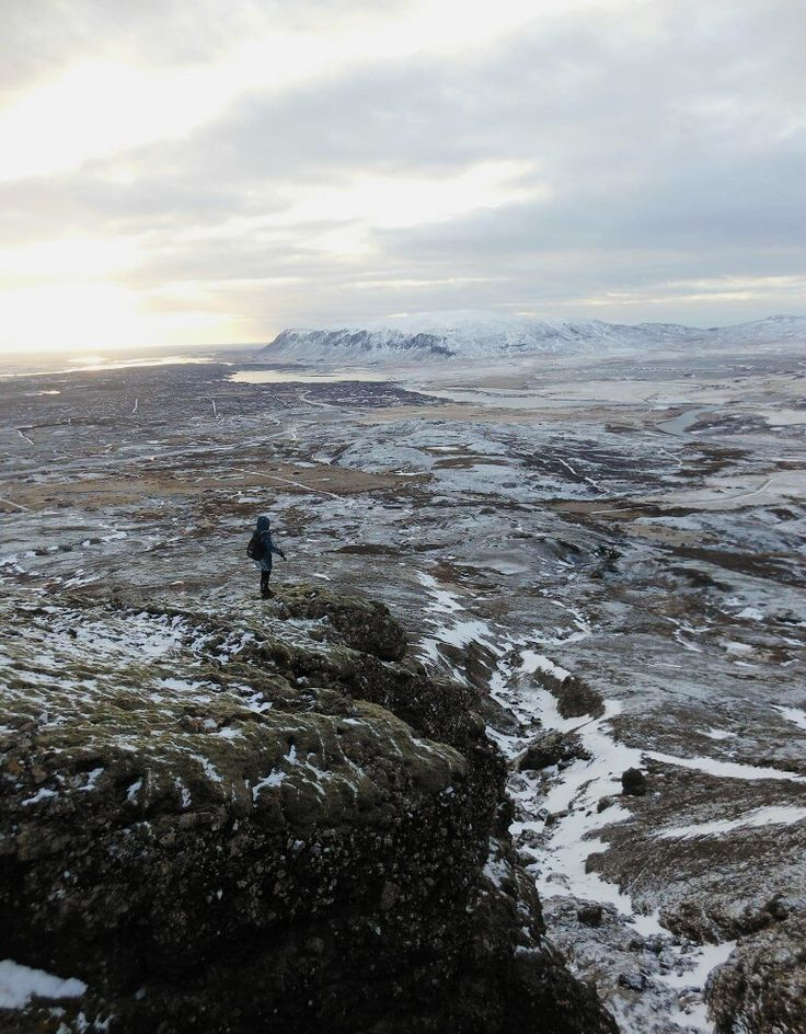 view from mountain #iceland #mountain #view