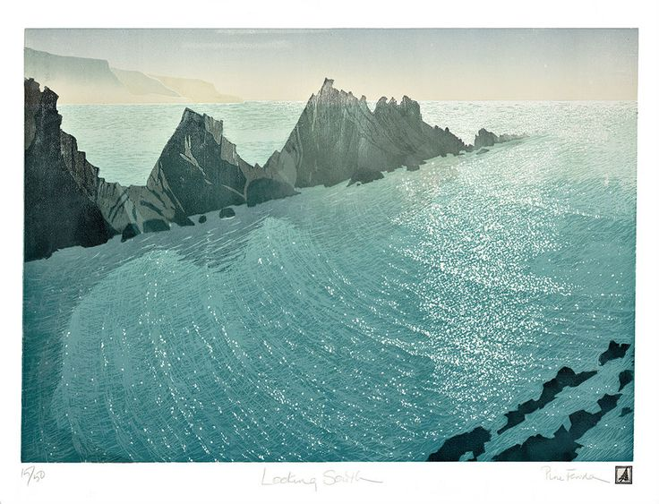 Pine Feroda Looking South 1330 X 960mm Printed in an edition of 50 during 2014