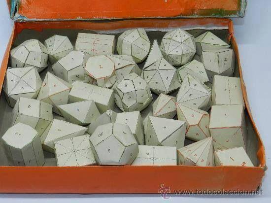 Figuras geométricas que haciamos en el cole ^_^