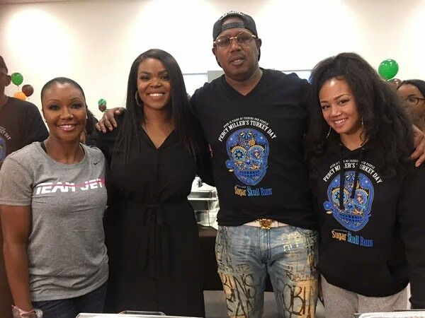 THANKSGIVING IN THE 'A': Ludacris & Eudoxie, NeNe Leakes, Marlo Hampton, Exes Keshia Knight Pulliam, Master P & Big Tigger Hand Out Food and Coats