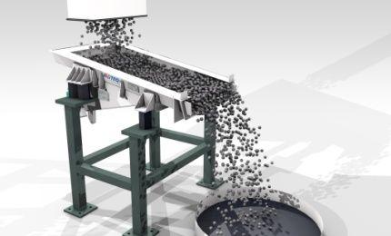 AViTEQ Vibrationstechnik: Vibrating Trough Conveyor