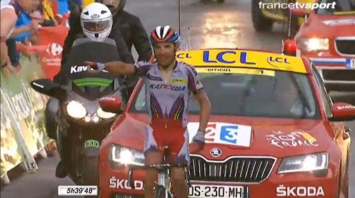 Purito sorprende tutti, Nibali torna competitivo e rientra in top Ten! #tdf   CICLISMO OGGI