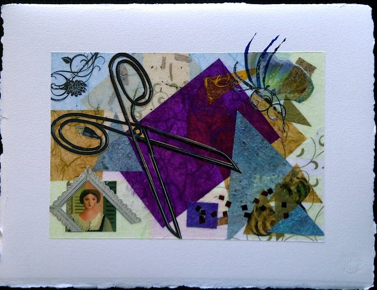 """Mix media collage """"Creations"""" 2011"""