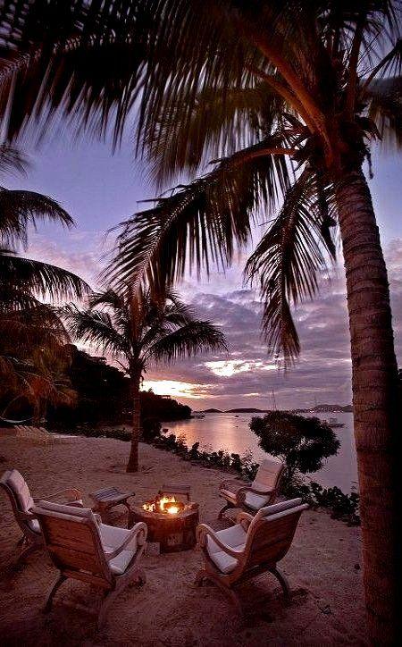 Cruz Bay in Saint John Island, Virgin Islands, United States