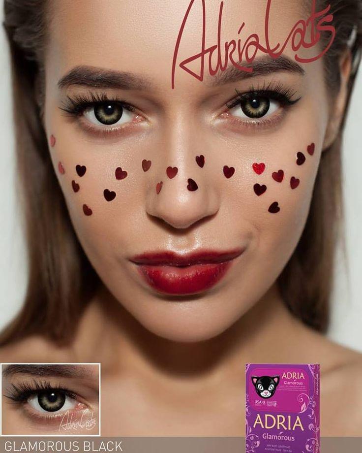 В этих глазах можно тонуть вечность😍❤ Adria Glamorous Black это соблазнительный чертёнок в ваших глазах☝❤ ▶Цена - 1300 сом пара❤  #КонтактныеЛинзыБишкек #ЦветныеЛинзыБишкек #ОптикаИсманкулова #МыДаримСчастьеВидеть