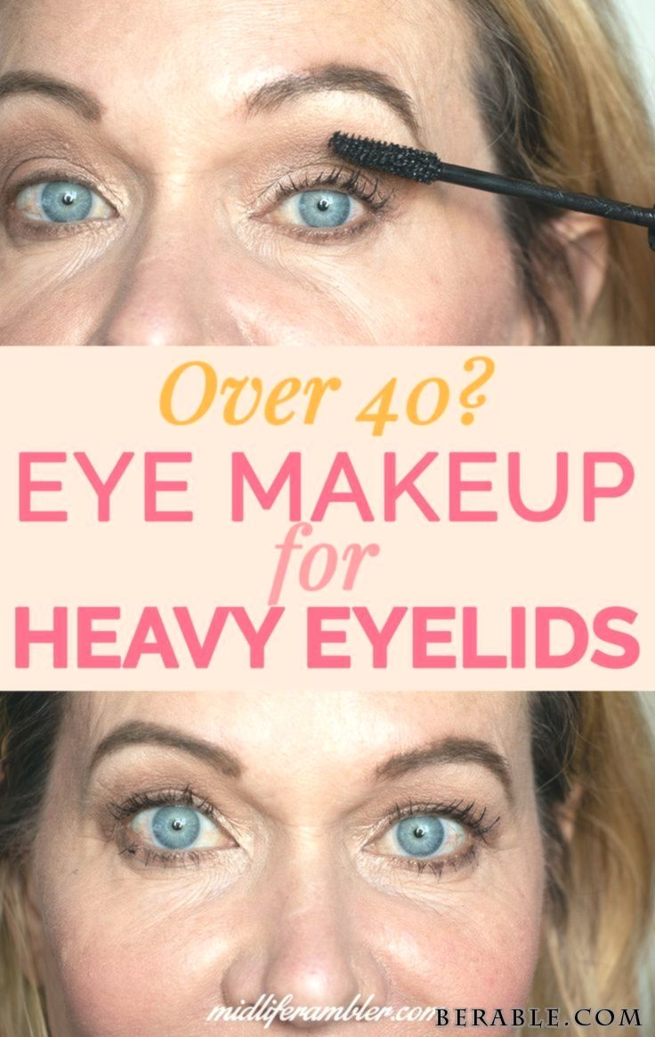 Aging Droopy or Hooded Eyes? Heres How to Update Your Eye Makeup to Enhance Your…