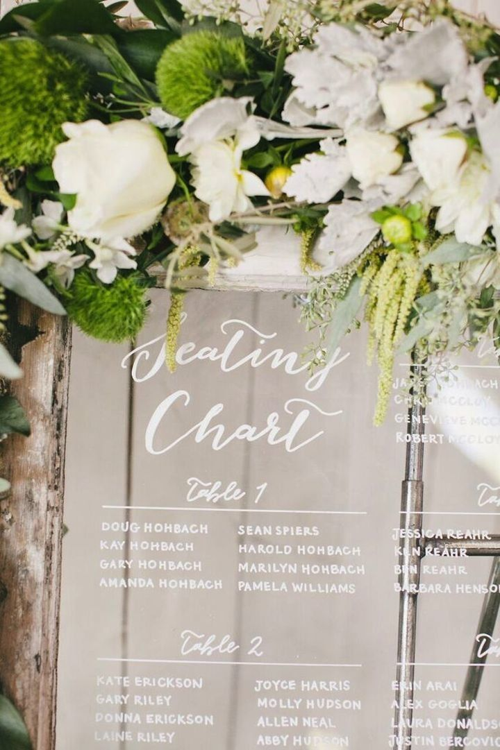 California Wedding 19 032416ac Window Seating Chart