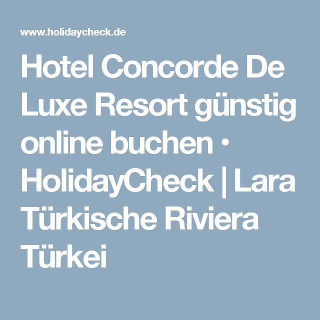 Hotel Concorde De Luxe Resort günstig online buchen • HolidayCheck | Lara Türkische Riviera Türkei