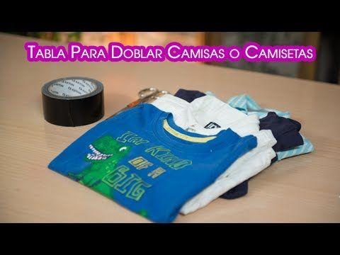 M s de 25 ideas incre bles sobre doblar camisas en - Tabla doblar camisetas ...