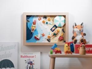 Fabriquer un cadre playmobil : une activité en famille pour après-midi pluvieux