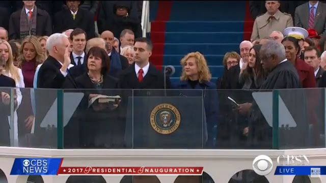 Armand's Rancho Del Cielo: Mike Pence Sworn In As Vice President of the Unite...