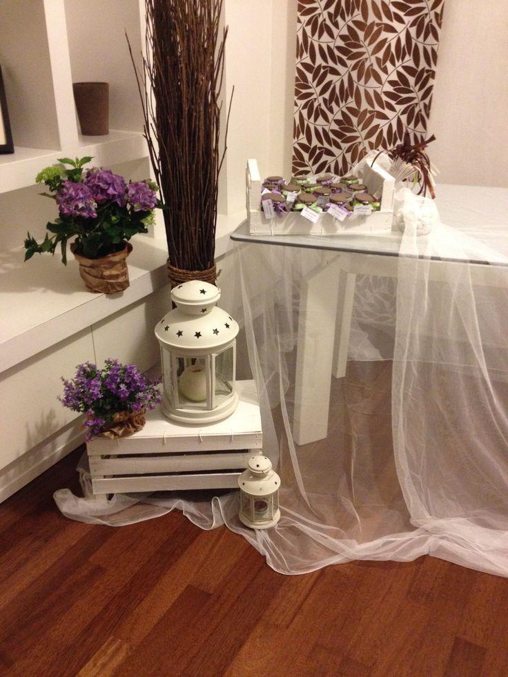 Comunione in casa copritavolo fatto con tende di ikea - Copritavolo ikea ...