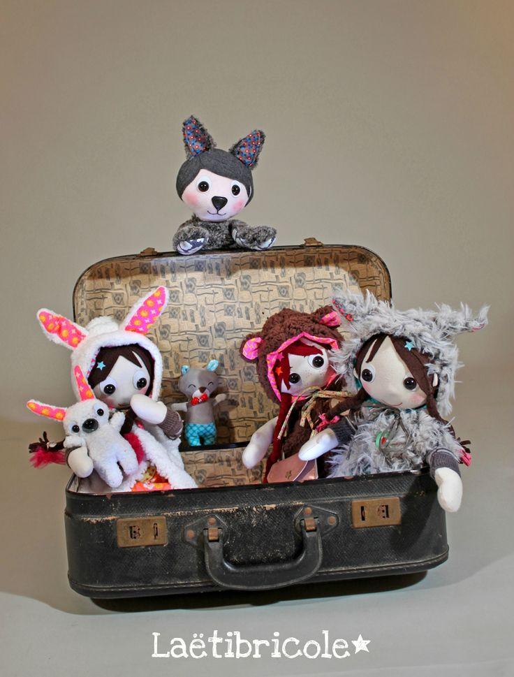 farandole valise poupée