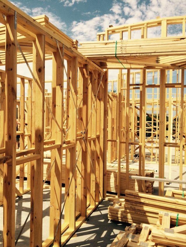 Framing well underway at The Gatehouse Brunswick - January 2015