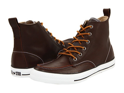 these actually might look pretty cool - Converse Chuck Taylor® All Star® Classic Boot Chocolate
