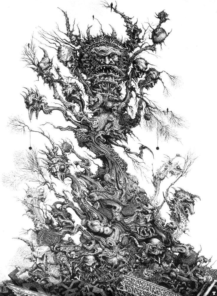 Tree of Souls - Ian Miller