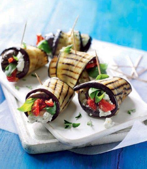 Marinated-feta,-yogurt-and-aubergine-rolls