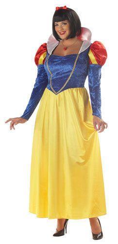Snow White Womens Plus Size Halloween Costume  Halloween  CostumesforWomen   CoolCostumes 195b5261c9fa