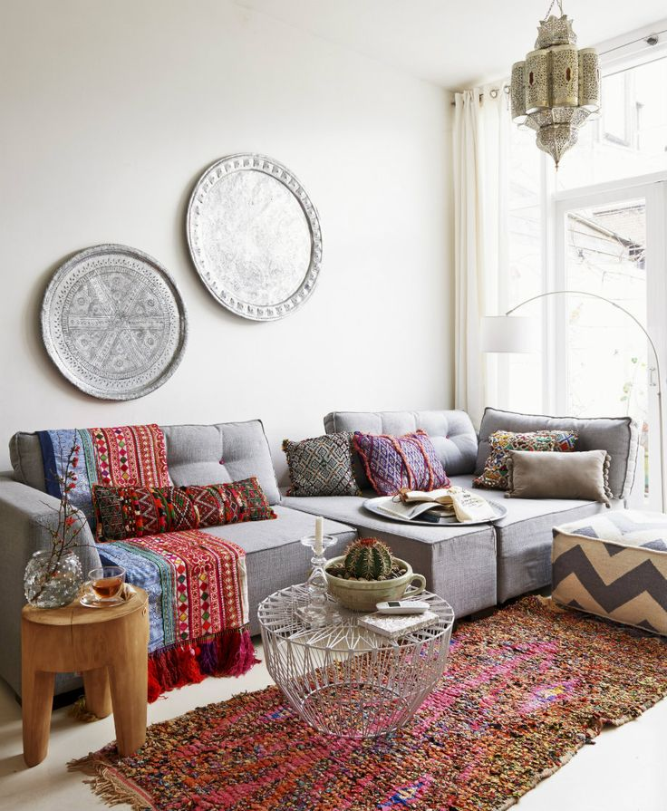 Boho decor. Interior design inspiration.