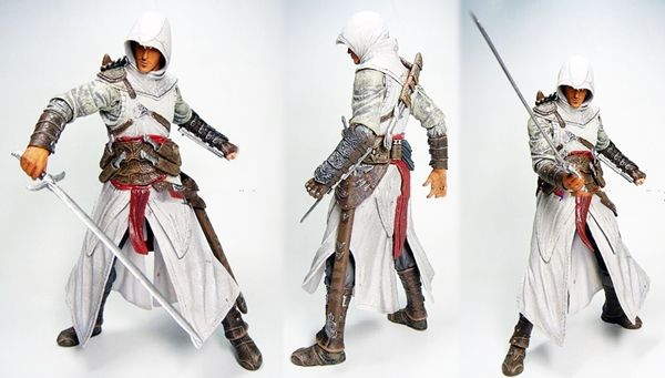 Mini boneco Altair Assassin's Creed colecionavel