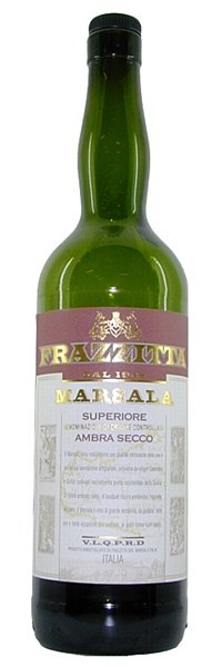 Frazzitta Marsala Superior Ambra Secco - This dry Marsala Superiore shares the sweet styles rich colour, but less residual sugar gives a dry wine broadly comparable to an Oloroso sherry. Complex aromas and flavours of toasted nuts, honey and dried fruit make for a very special glassful.  18% ABV