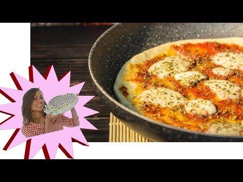 Pizza Fatta in Casa - Ricetta Velocissima in Padella 15 Minuti - YouTube