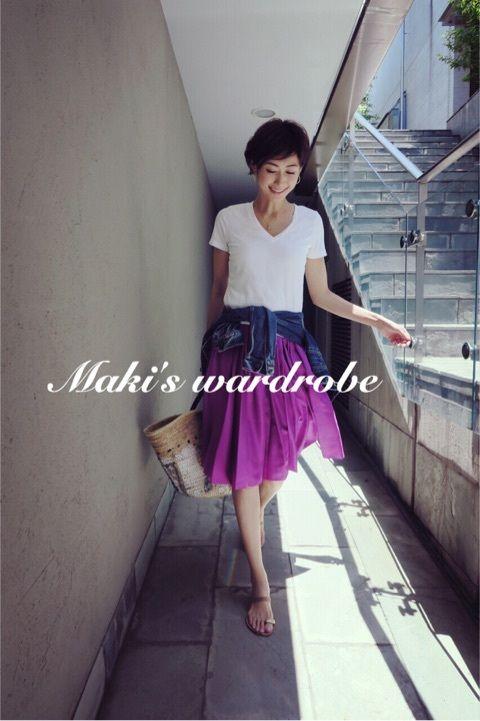 Maki's wardrobeまとめて。。。 の画像|田丸麻紀オフィシャルブログ Powered by Ameba