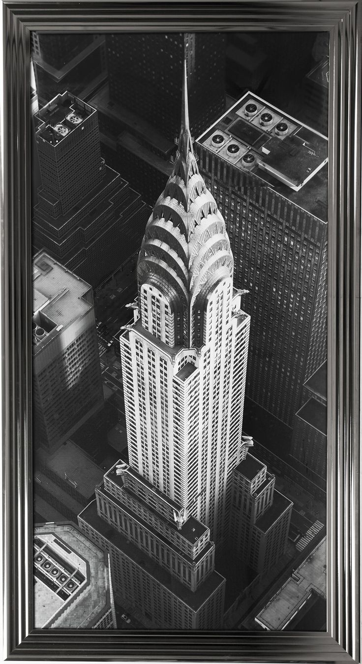 PAINTING CHRYSLER BUILDING