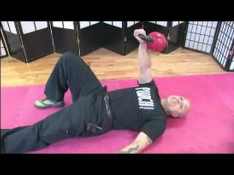 Kettlebell Workouts and Exercises : How to go a Turkish Get Up Exercise with Kettlebells