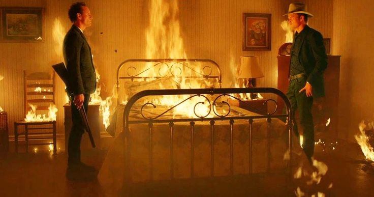 'Justified' Season 6 Trailer: Ava Has Raylan and Boyd Trapped! -- Raylan Givens and Boyd Crowder are trapped in a burning house, with Ava having the last laugh in the latest 'Justified' Season 6 trailer. -- http://www.tvweb.com/news/justified-season-6-trailer-showdown