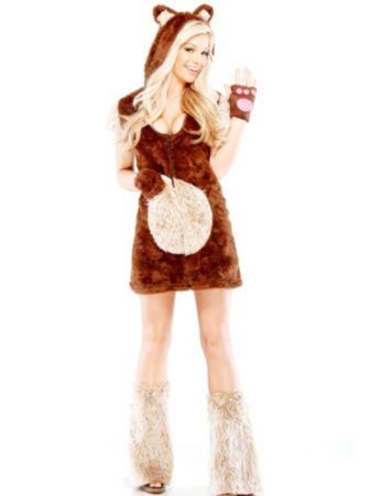 Sexy Teddy Bear Costume | Wholesale Animal Costumes for Adults