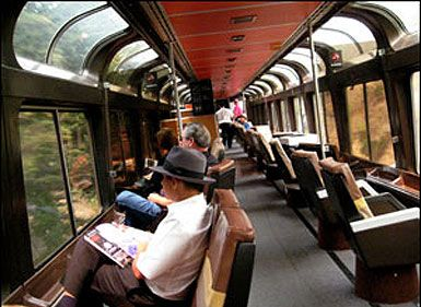 Amtrak's Coast Starlight train from Santa Barbara up to Seattle features great views and the fantastic Pacific Parlour car.