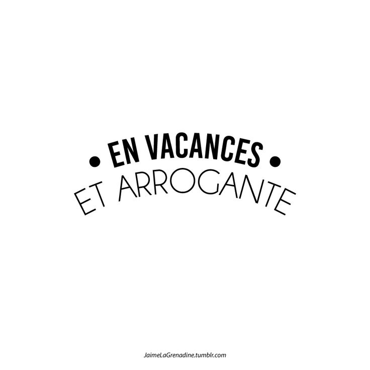 En vacances Et arrogante - #JaimeLaGrenadine >>>...