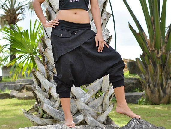 New style, Haremshosen, Yogahosen, Hippiehosen, Damen und Herren, handgemacht