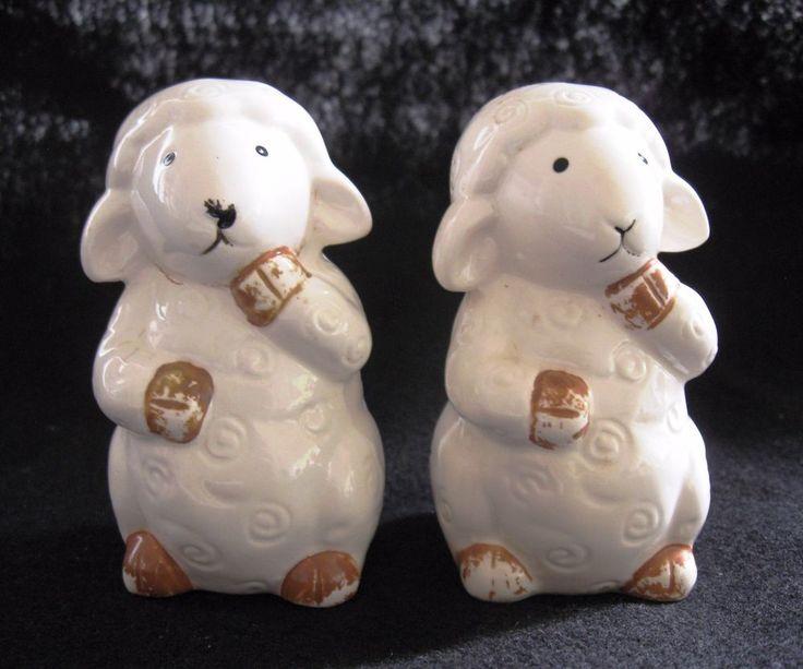 Adorable de colección esmaltado de porcelana ovejas de Sal y Pimienta Shakers | Objetos de colección, Adornos de colección, Saleros y pimenteros | eBay!