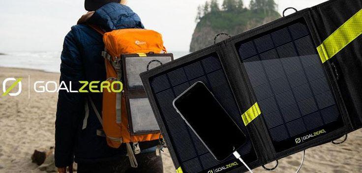 [Vente Du Diable] Un panneau Solaire Nomade pour recharger vos portables et appareils photos où que vous soyez ! #hightech #gadget #technologie #environnement #greentechnology