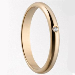 Pink gold wedding band from Cartier!
