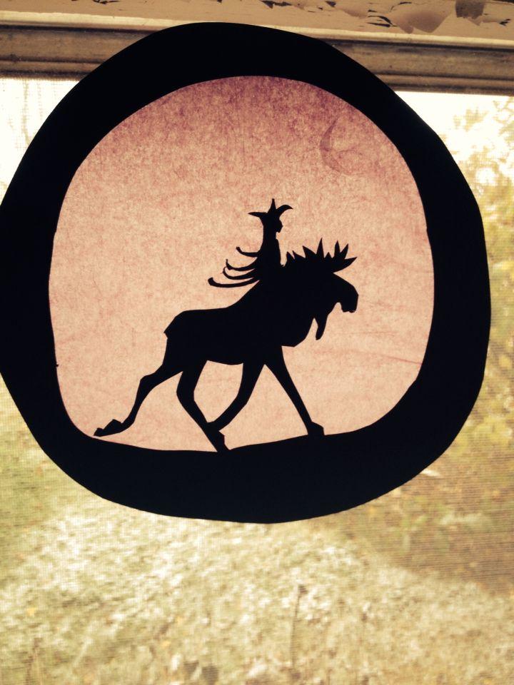 John Bauer silhouette waldorf