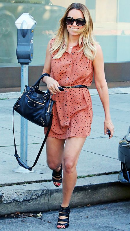 Lauren Conrad's Chic Street Style - 2013 from #InStyle