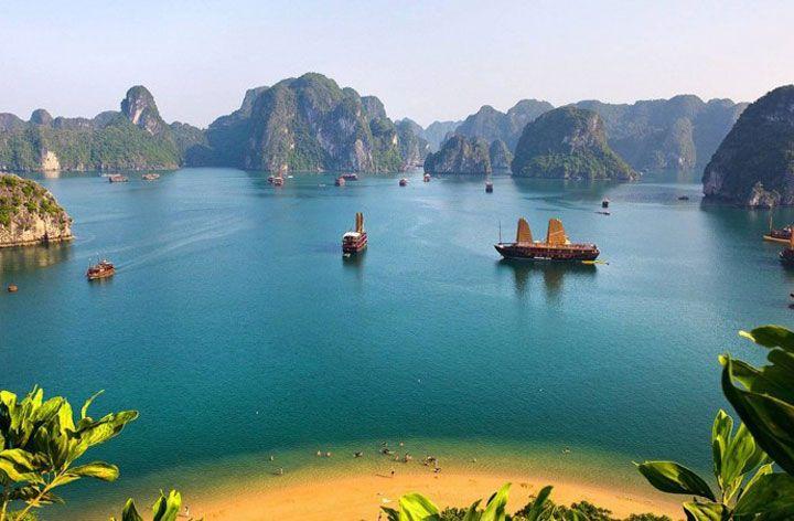 La baie d'Halong, Vietnam