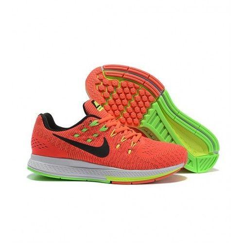 Nike Pánské - Sleva Nike Air Zoom Structure 19 Pánské Běžecké Boty Oranžový Fluorescent Zelená Černá 1062