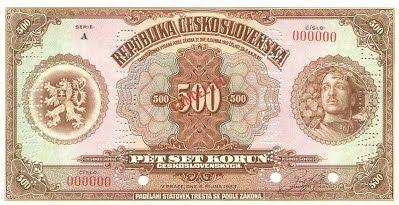 500 Kč 1923