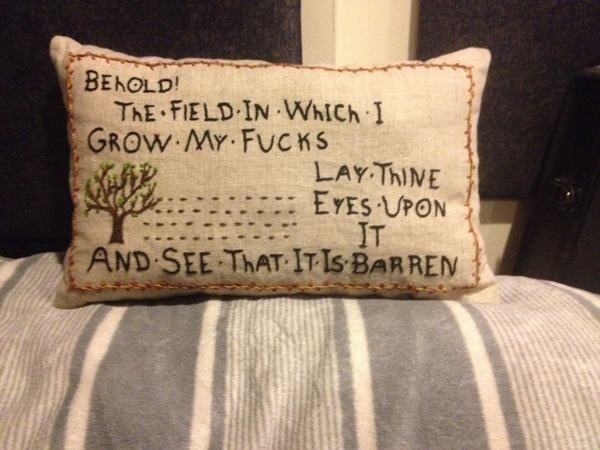 I wish I could needlepoint, this is awesome.