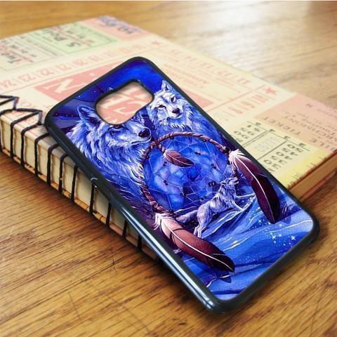 Wolf Dream Catcher Samsung Galaxy S6 Edge Case